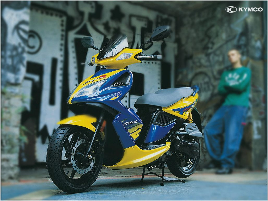 Kymco Scout ZX 50 2001 images #101246