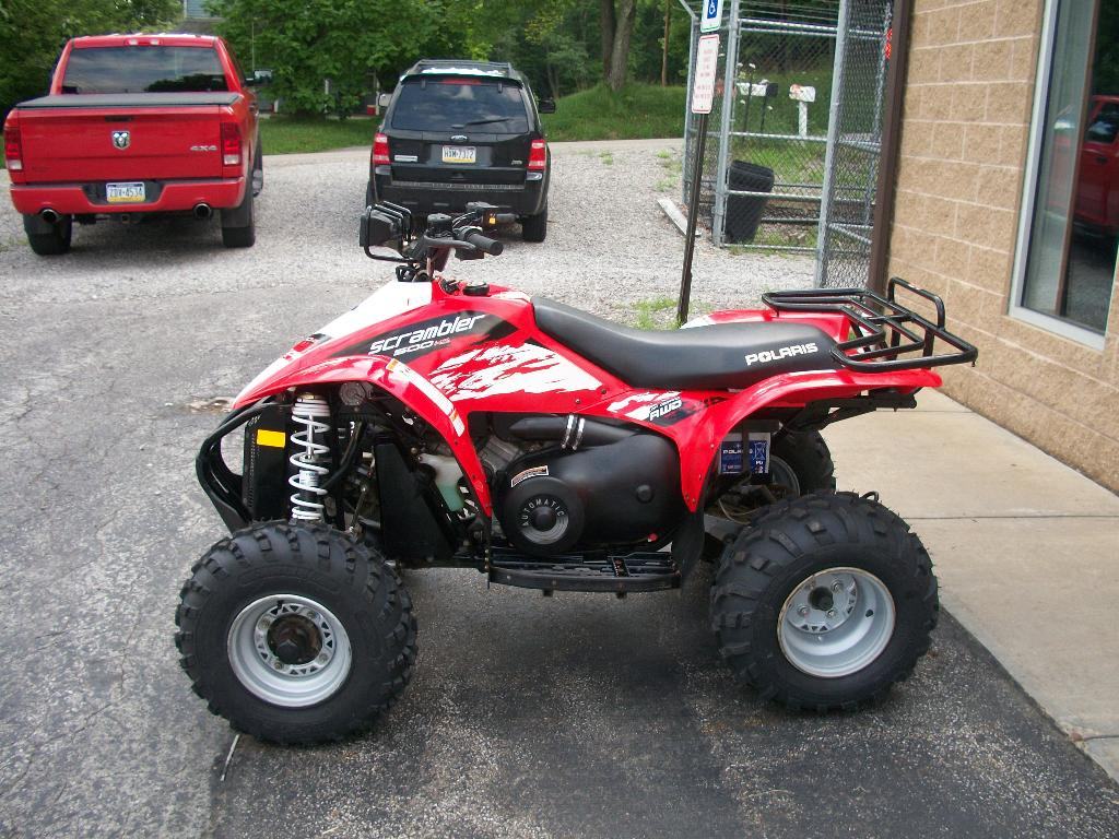 Polaris Scrambler 500 4x4 2006 images #121173