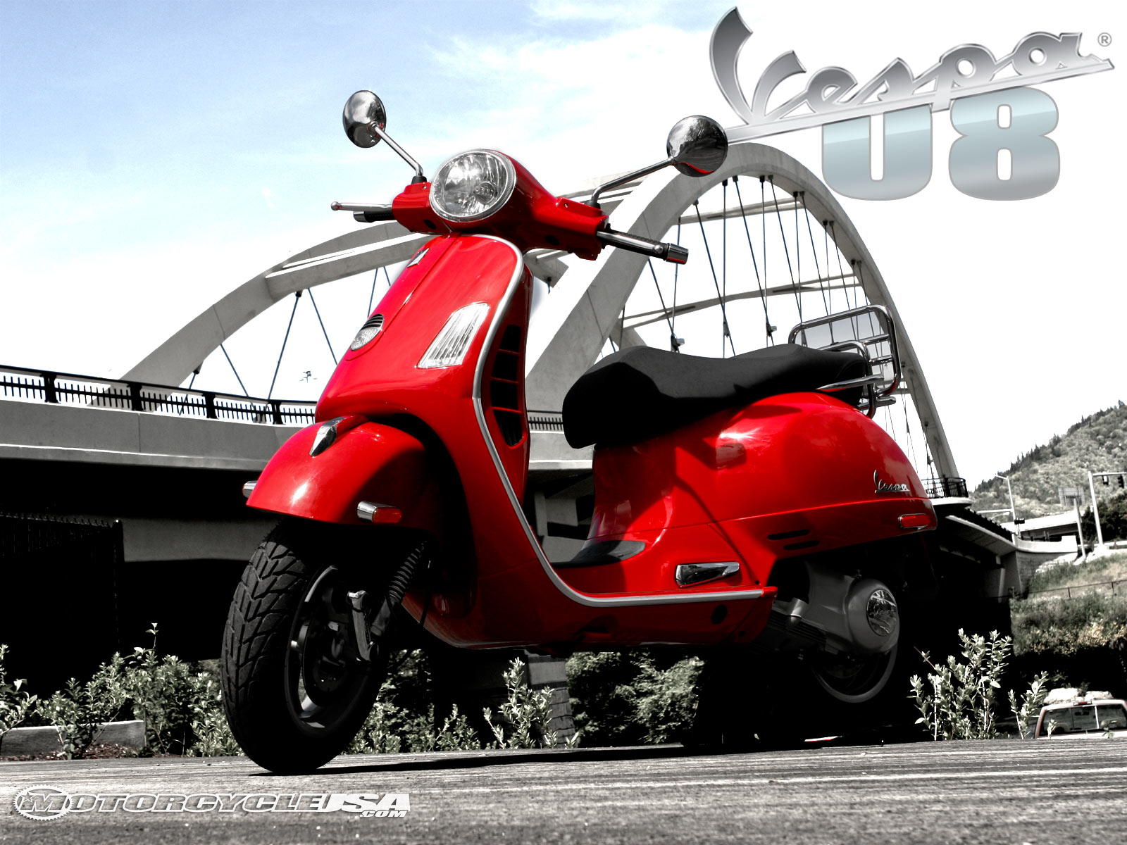 Vespa GTS 250 2008 wallpapers #132244