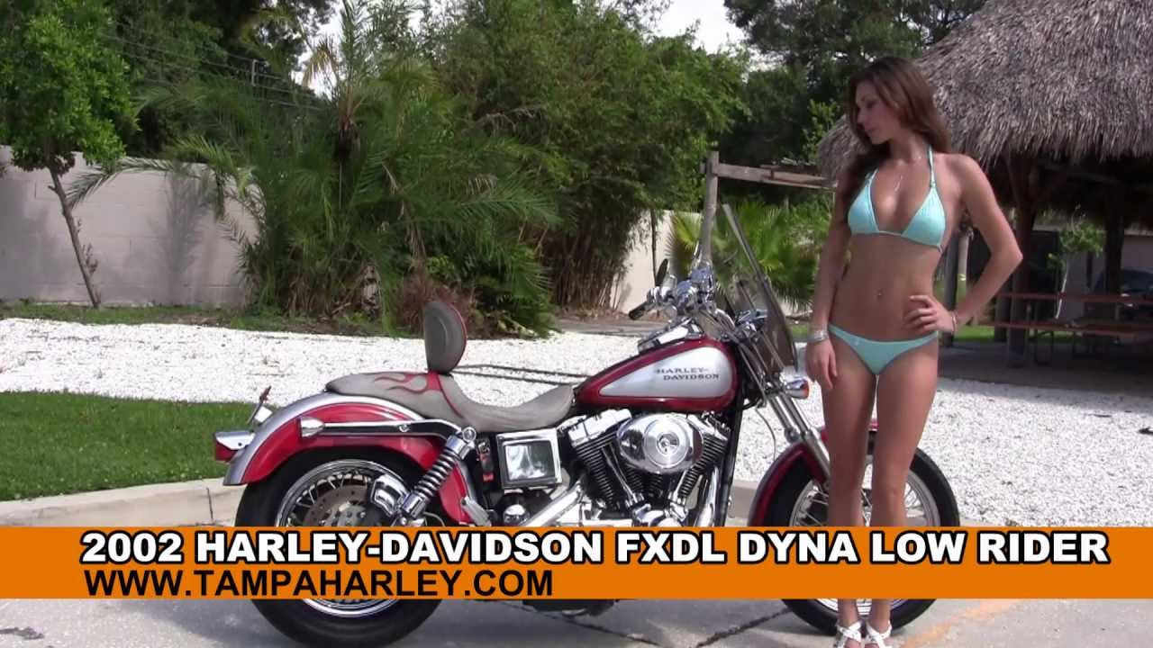 Harley-Davidson FXDL Dyna Low Rider 2002 wallpapers #141954