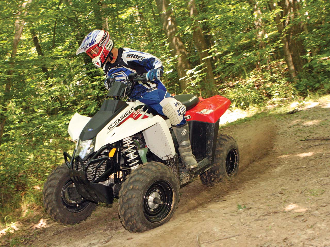 Polaris Scrambler 500 4x4 2006 images #121174