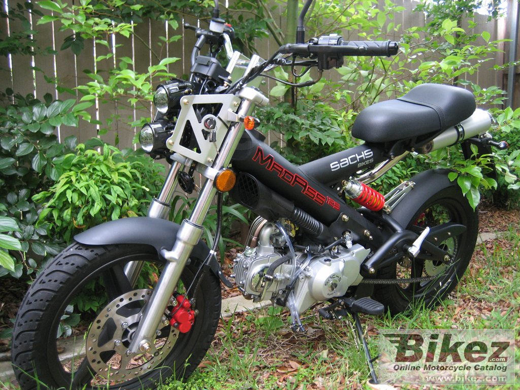 2007 sachs madass 125 pics specs and information. Black Bedroom Furniture Sets. Home Design Ideas
