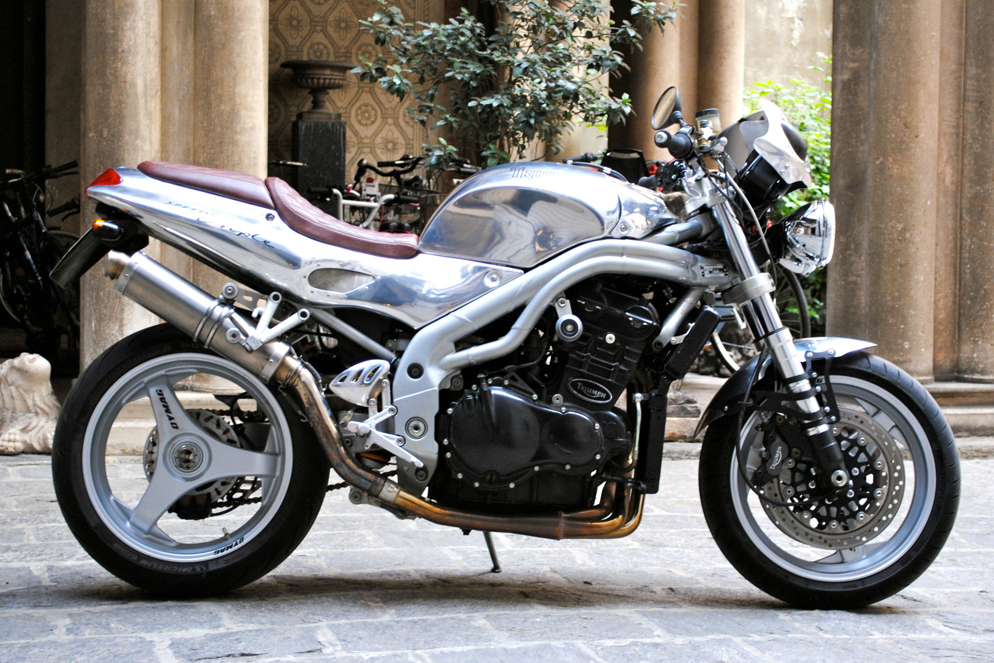 Triumph Speed Triple T509 1998 images #162185