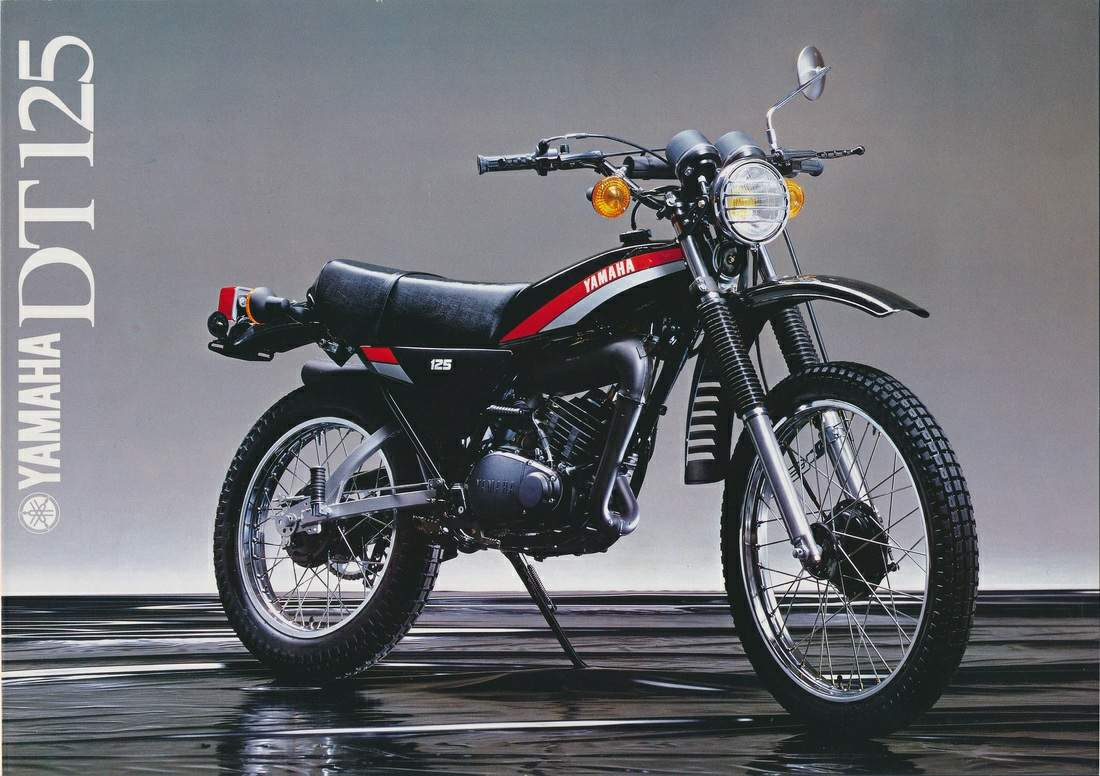 Yamaha DT 125 E 1978 wallpapers #135612