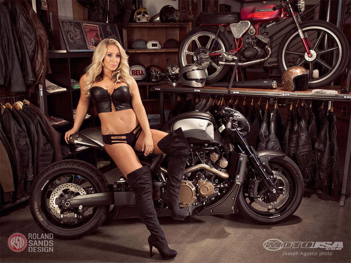 Yamaha VMAX Hyper Modified Roland Sands images #94502