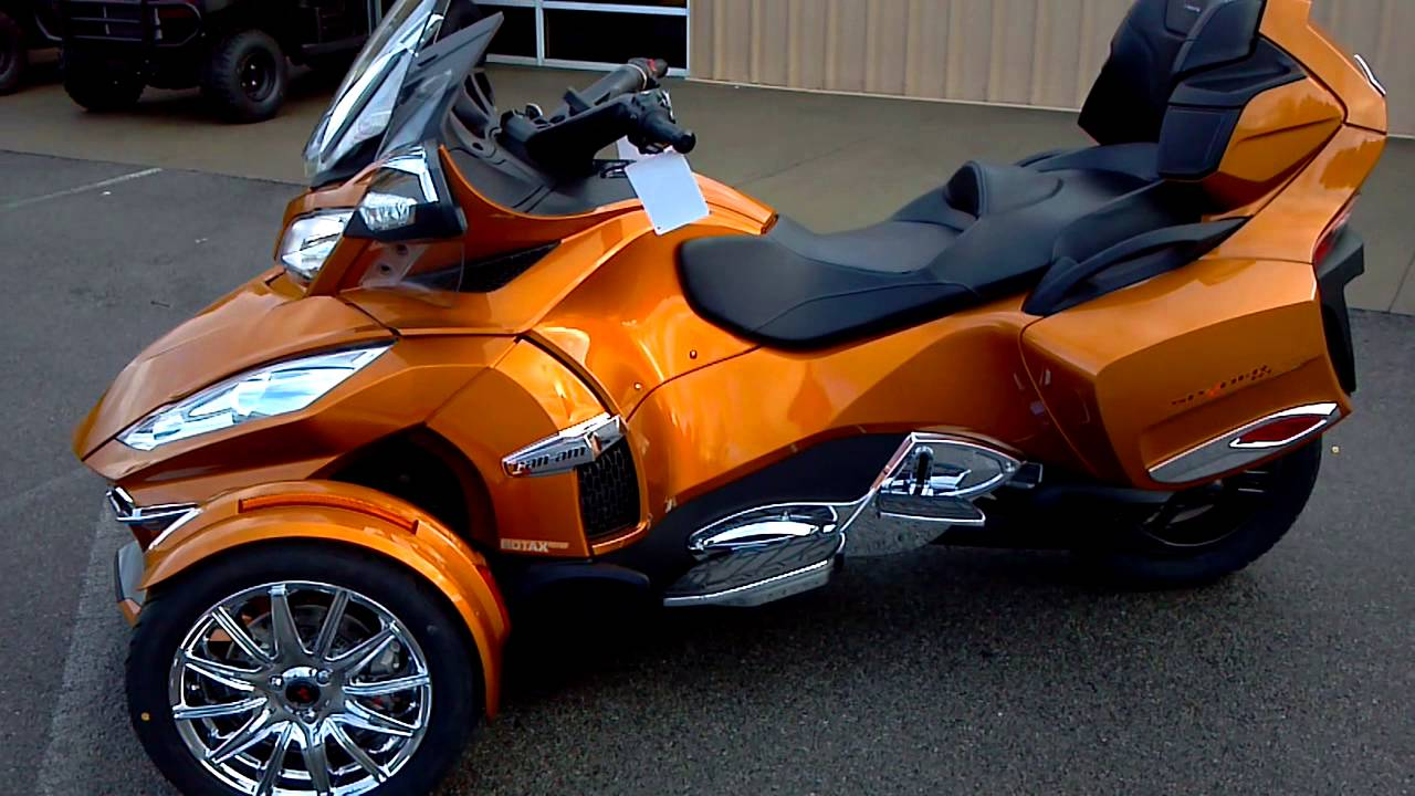 Can-Am Spyder ST 2014 images #68544