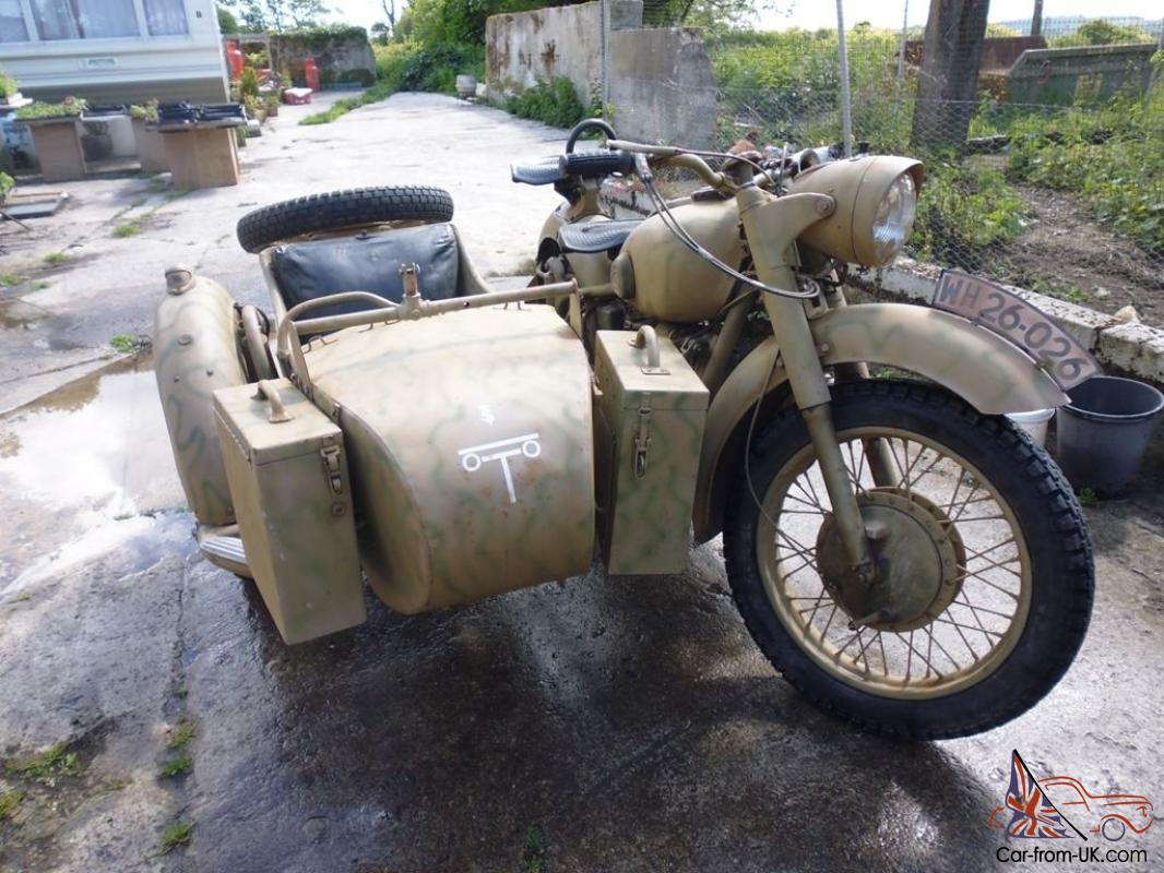 Dnepr MT 10 with sidecar 1977 images #71409