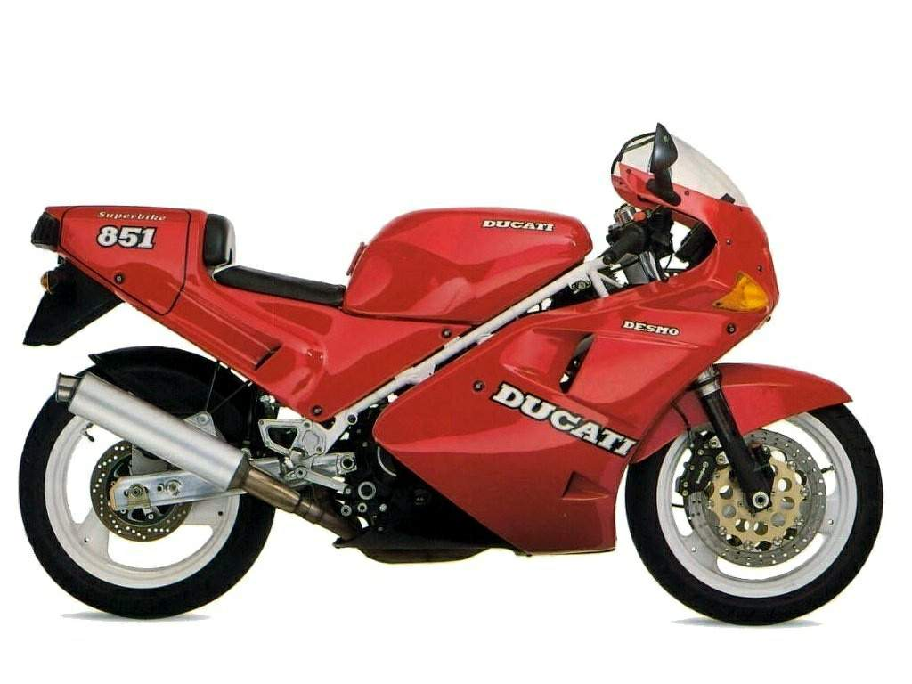 Ducati 851 Strada 1990 wallpapers #10626