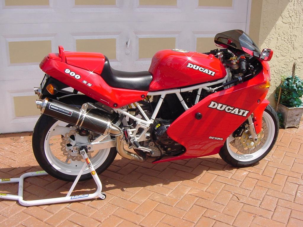 Ducati 900 SS 1997 images #79029