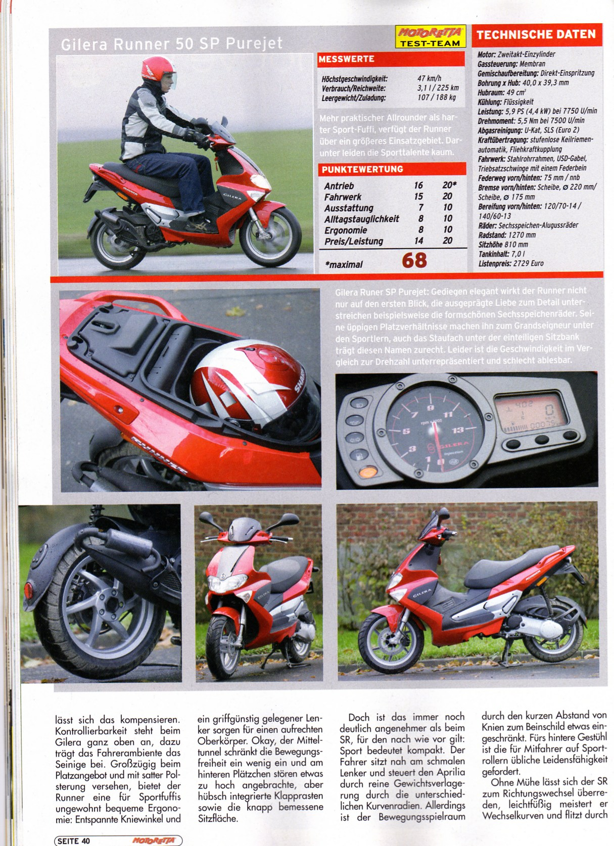 Gilera Runner Pure Jet 2004 images #155941
