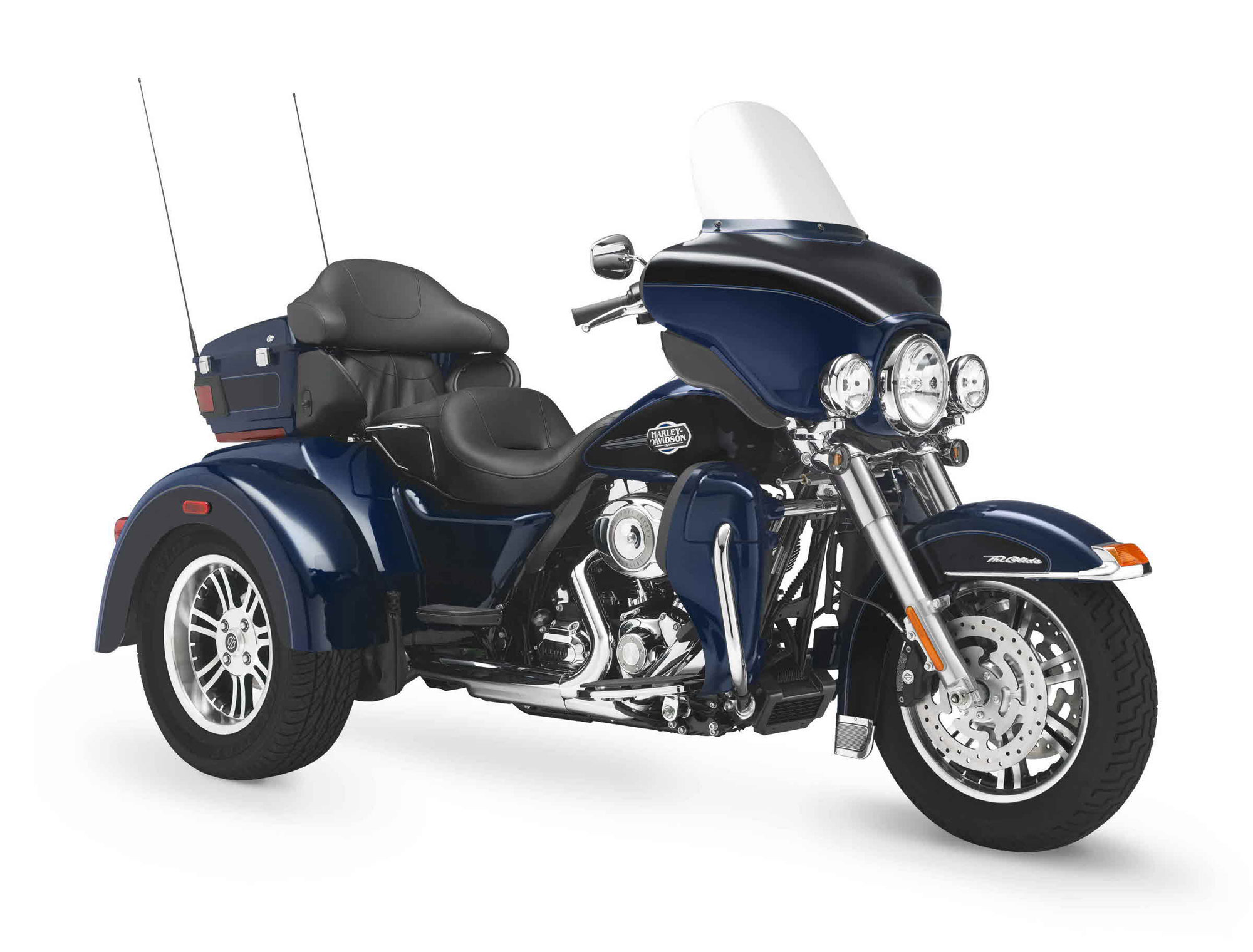 Harley-Davidson FLHTCUTG Tri Glide Ultra Classic 2012 wallpapers #160305
