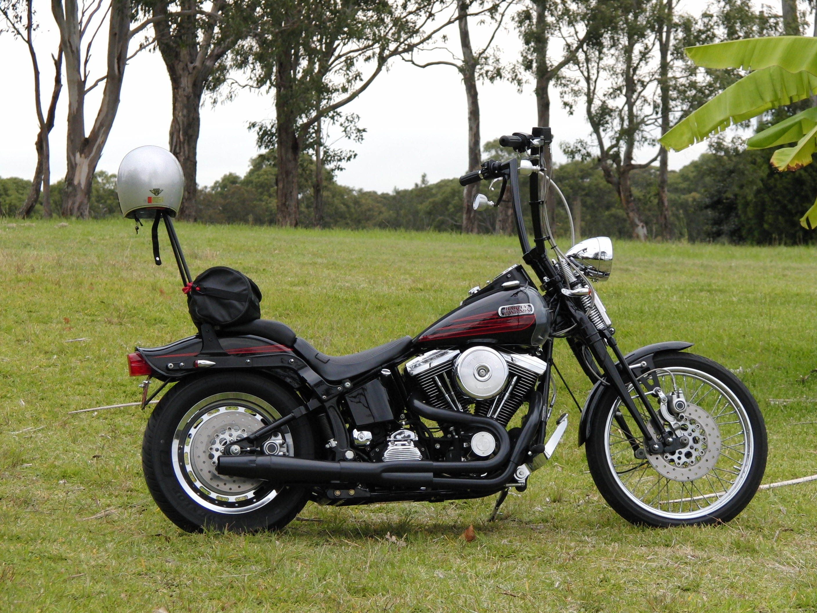 Harley-Davidson FXSTSB Springer Softail Bad Boy 1997 pics #16787