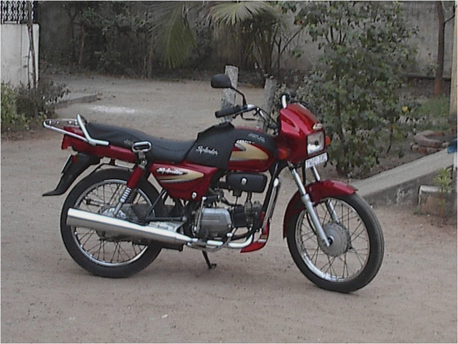 Hero Honda Splendor 2007 images #95892