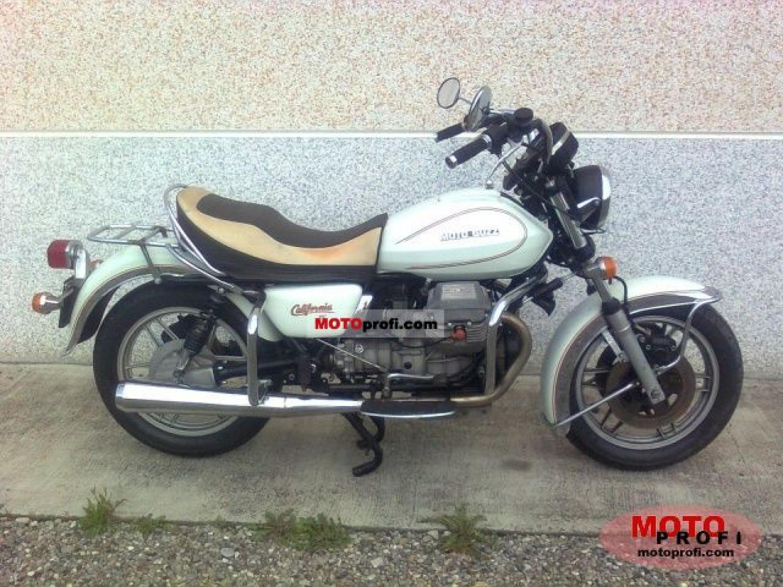 Moto Guzzi California II 1983 images #107479