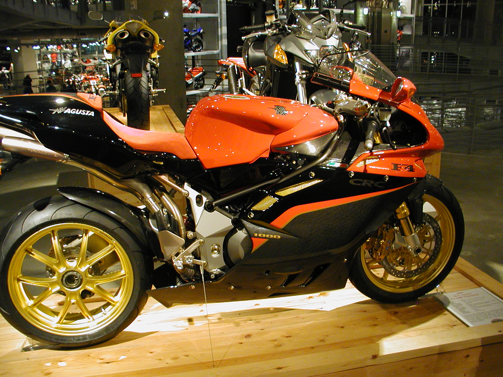 MV Agusta F4 S 1+1 2002 images #113777
