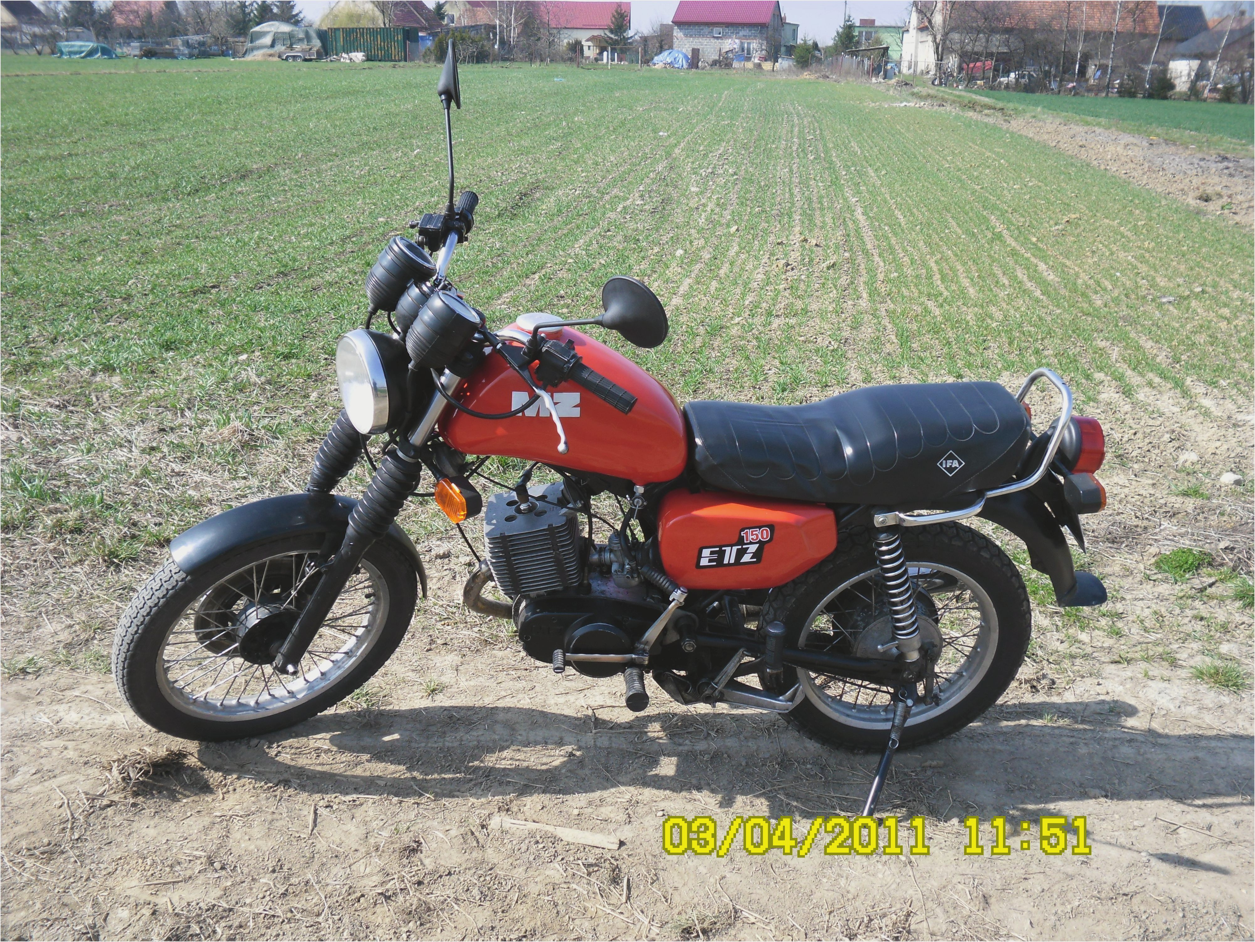 MZ ETZ 125 Saxon Roadstar 1994 wallpapers #140179