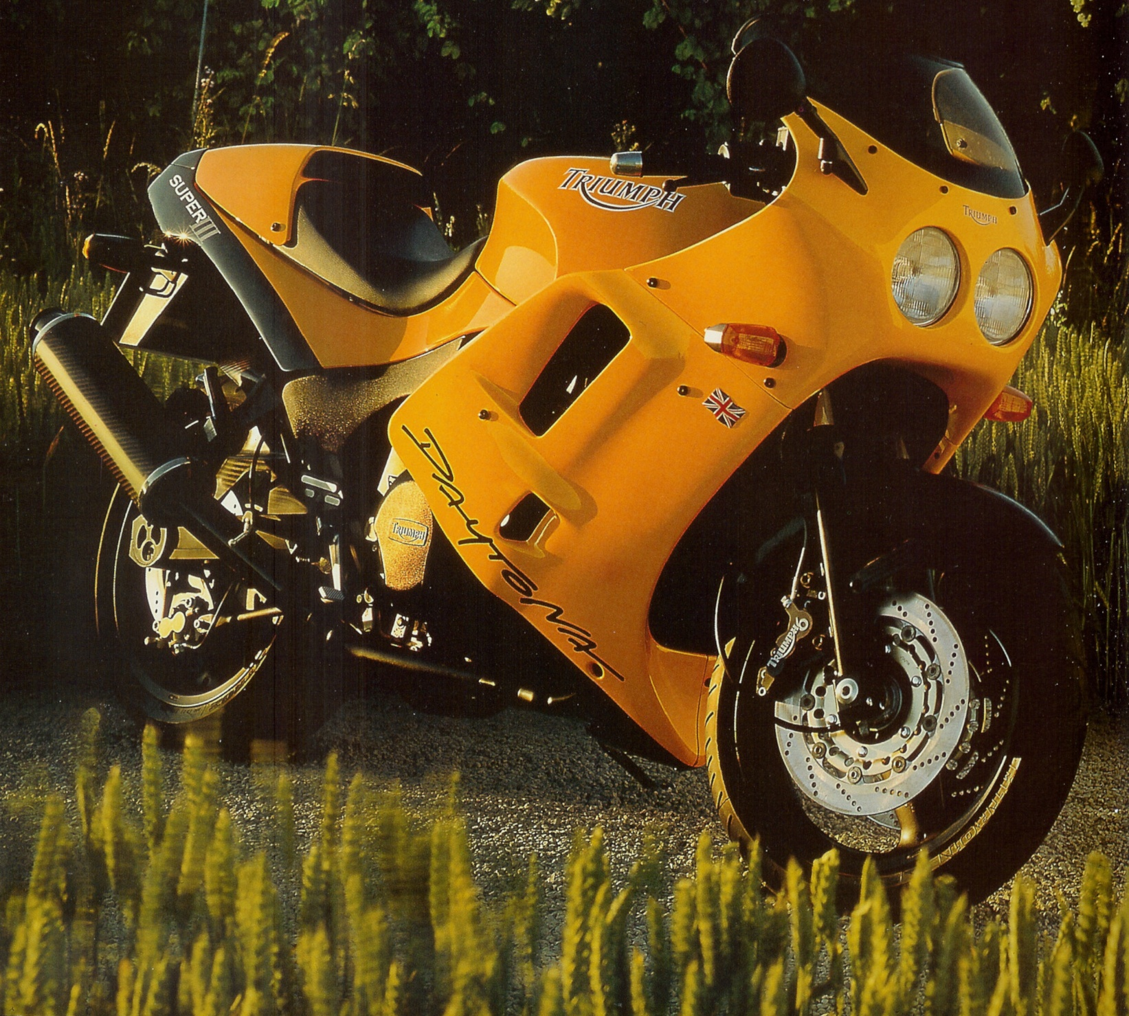 Triumph Daytona Super III 1994 wallpapers #130458