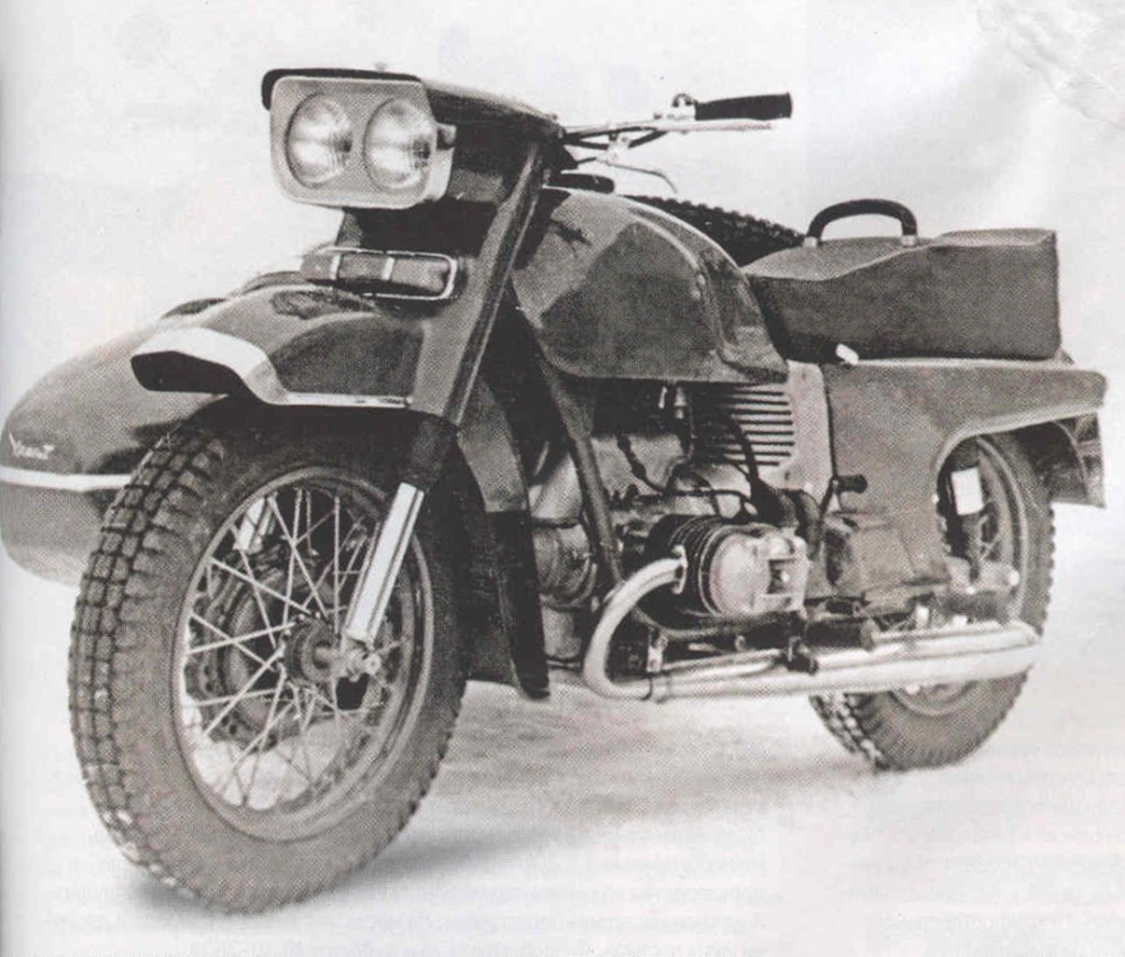 Ural M-63 with sidecar 1972 images #127105