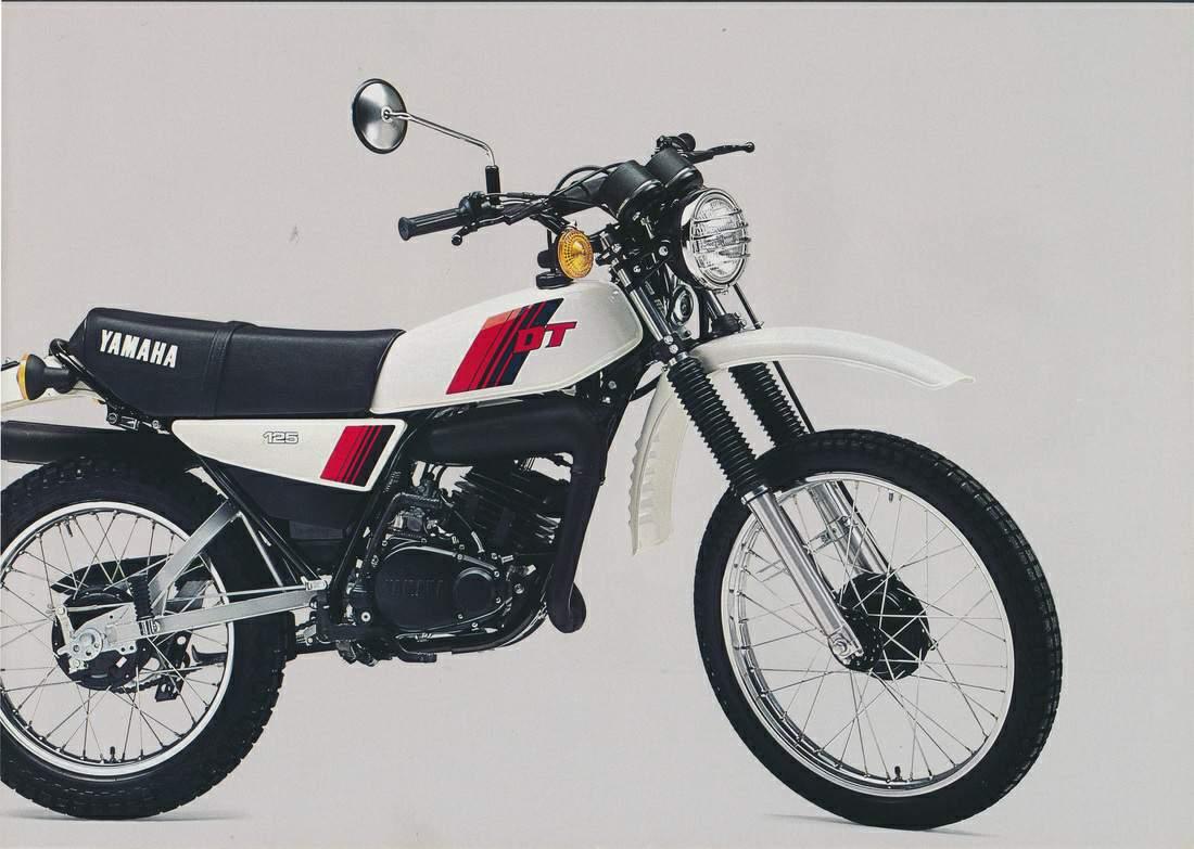 Yamaha DT 125 E 1978 wallpapers #135613