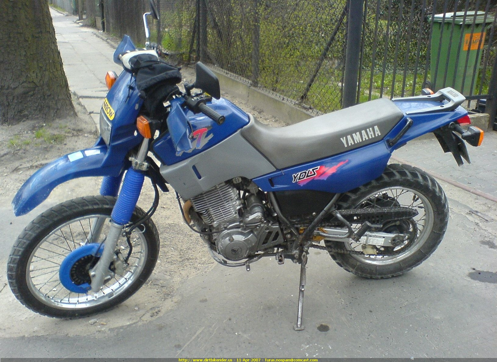 1991 yamaha xt 600 pics specs and information. Black Bedroom Furniture Sets. Home Design Ideas