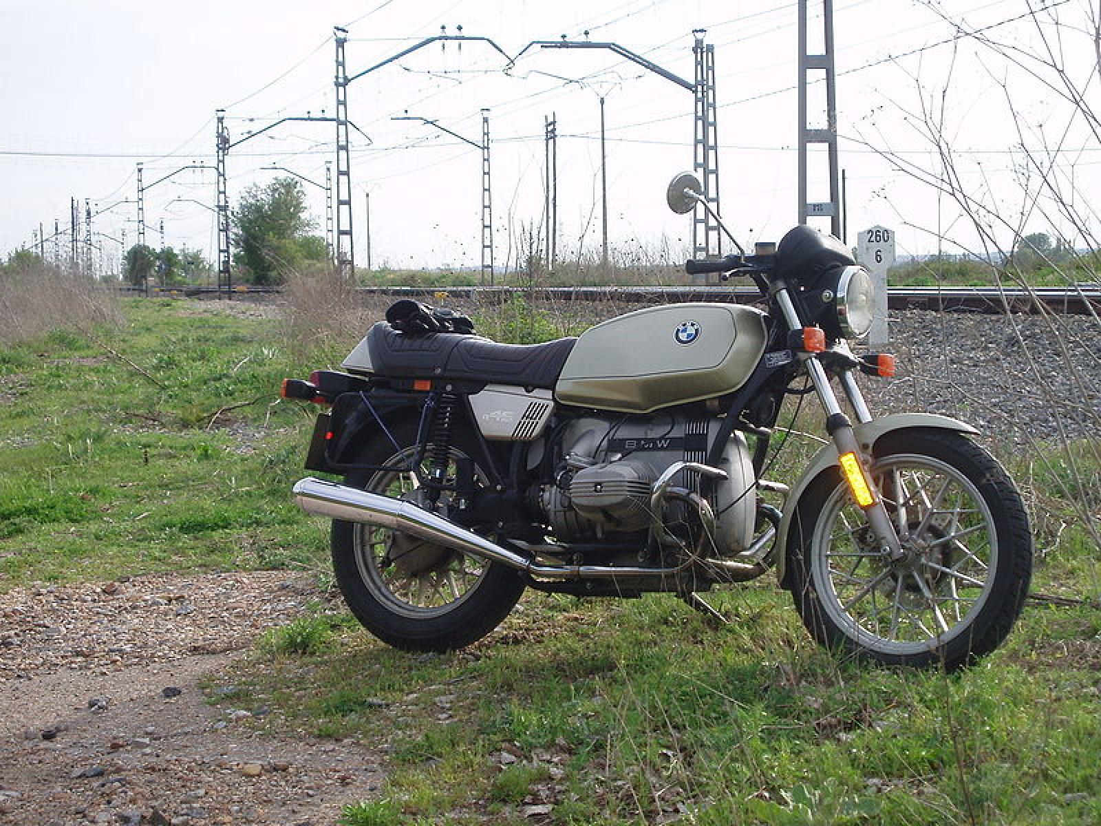 1984 bmw r45 reduced effect pics specs and information. Black Bedroom Furniture Sets. Home Design Ideas