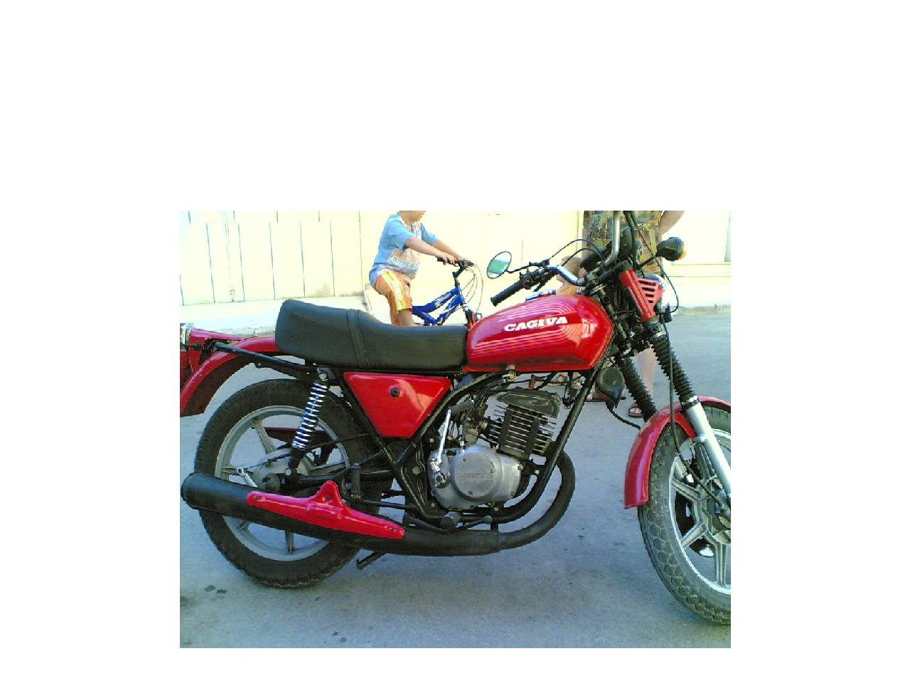 Cagiva SST 350 Chopper 1981 images #68445