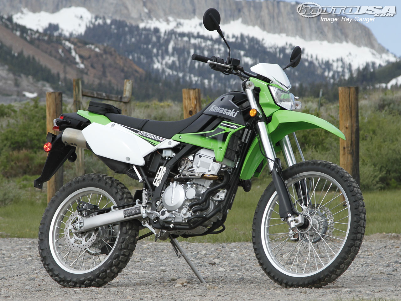 Kawasaki KLX 250 S 2007 wallpapers #142455