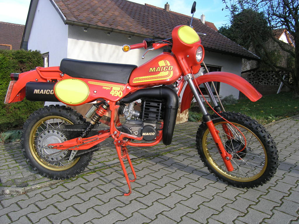 Maico MD 125/6 1975 images #101938