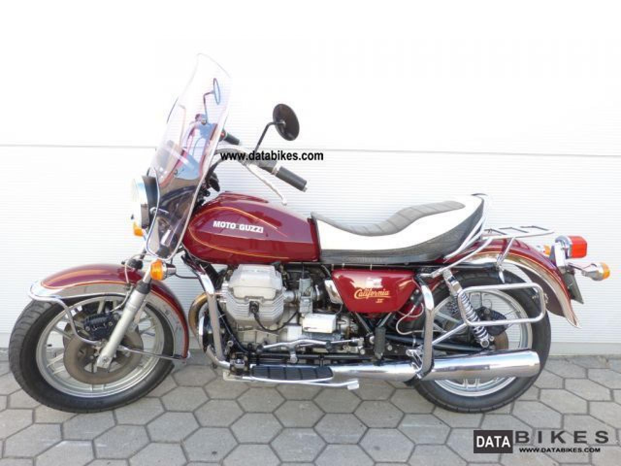 Moto Guzzi California II 1983 images #107480