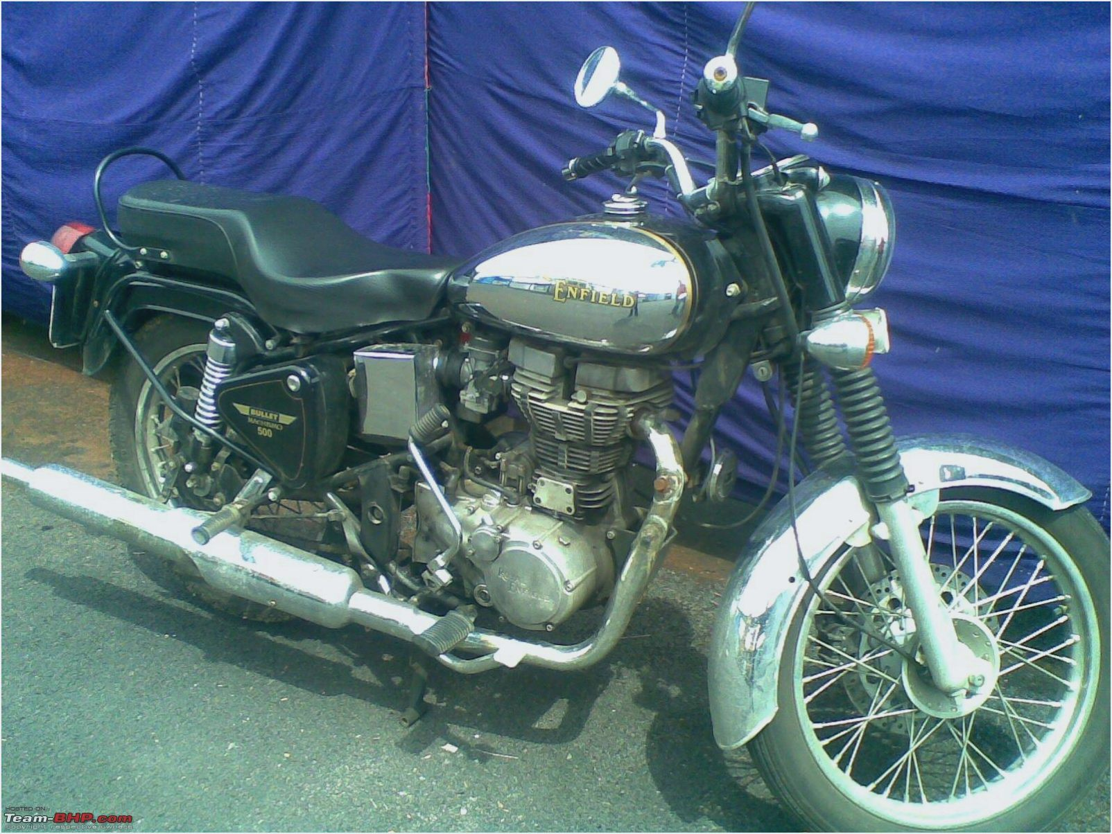 Royal Enfield Bullet 500 Deluxe AVL 2010 images #124038