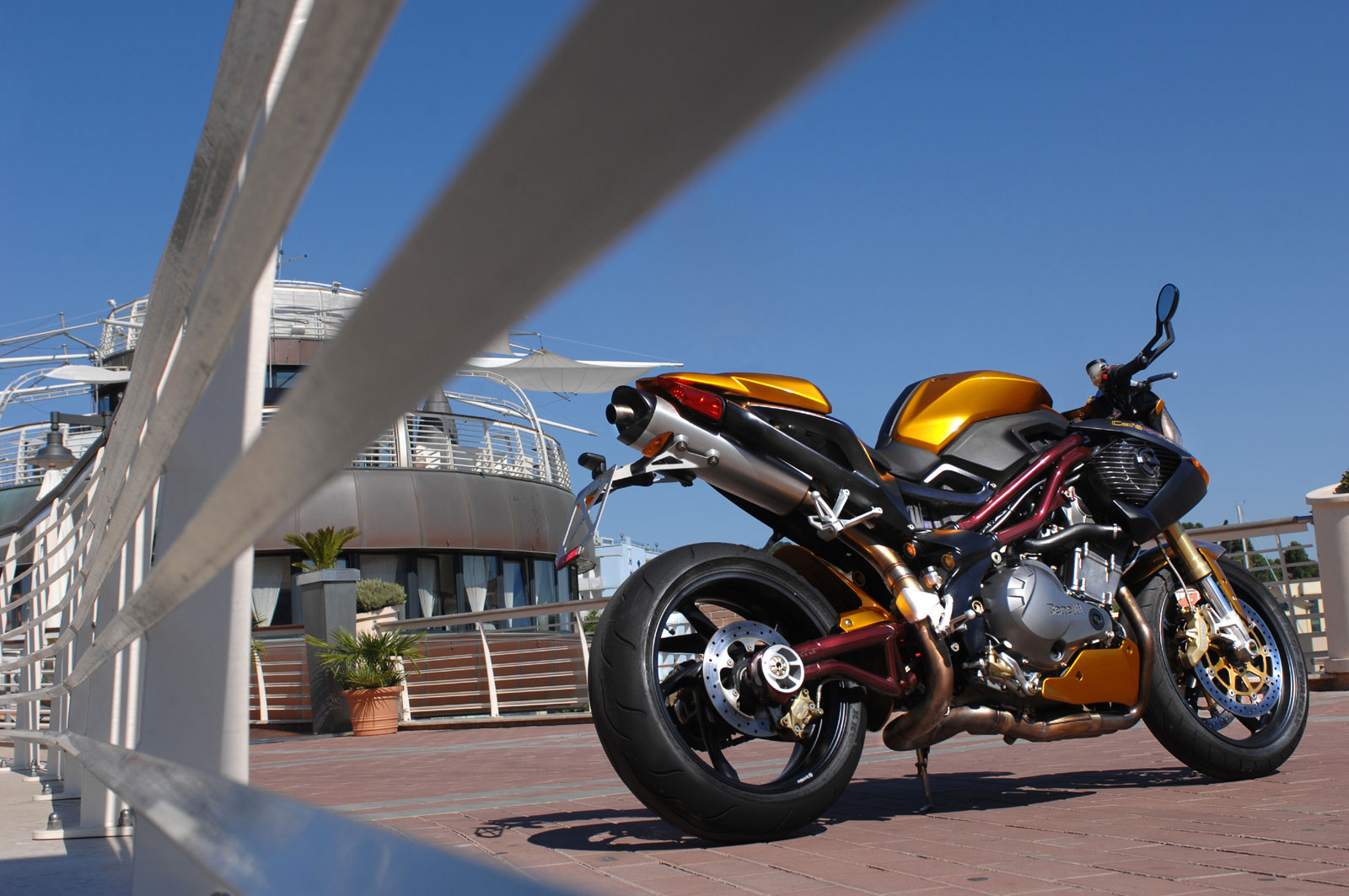 Benelli TnT Cafe Racer 2008 pics #1497