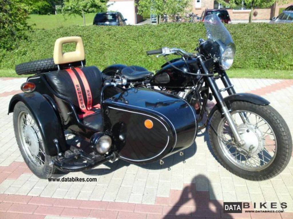 Dnepr MT 12 with sidecar 1985 images #72094