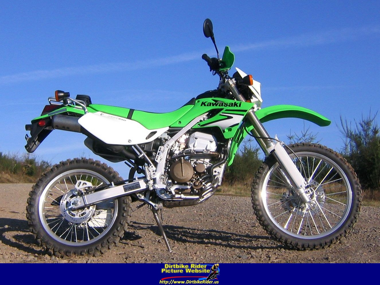 Kawasaki KLX 250 S 2007 wallpapers #142456