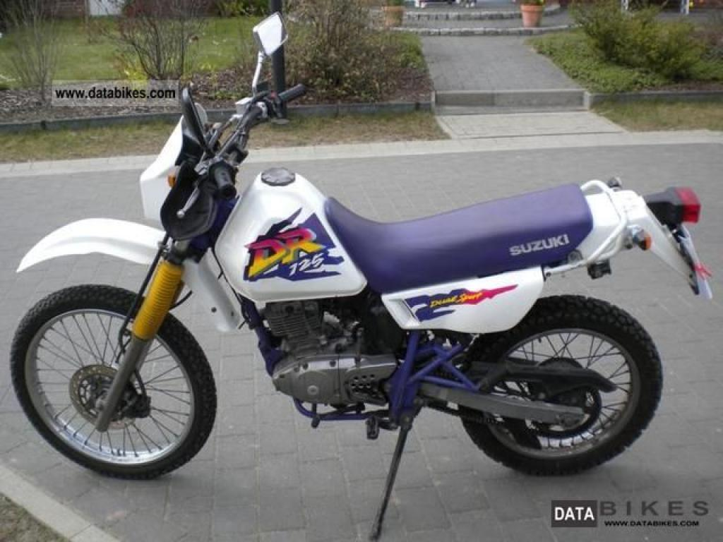 2001 suzuki dr 125 se pics specs and information. Black Bedroom Furniture Sets. Home Design Ideas