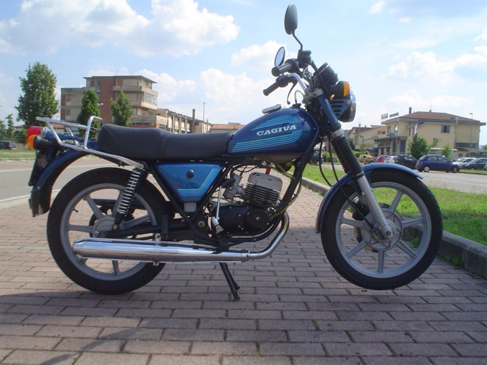 Cagiva SST 350 Chopper 1981 images #68447