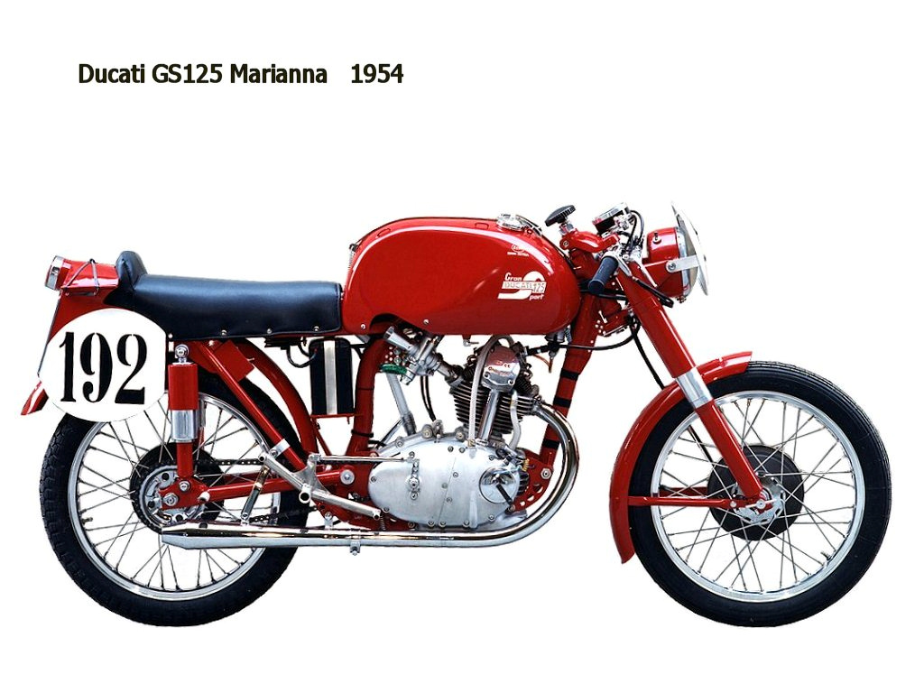 Ducati 98 SS 1955 images #9632