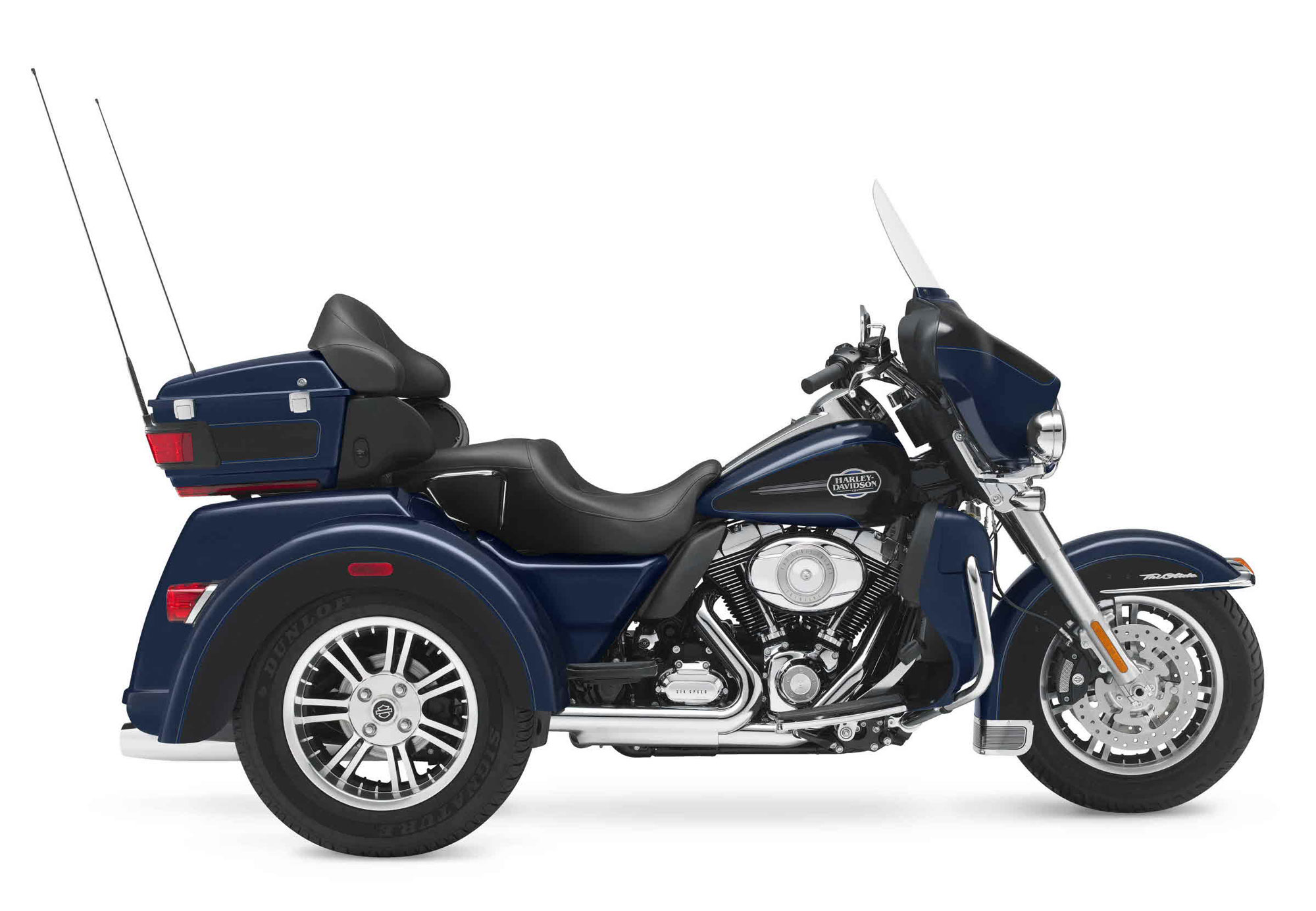 Harley-Davidson FLHTCUTG Tri Glide Ultra Classic 2012 wallpapers #160308