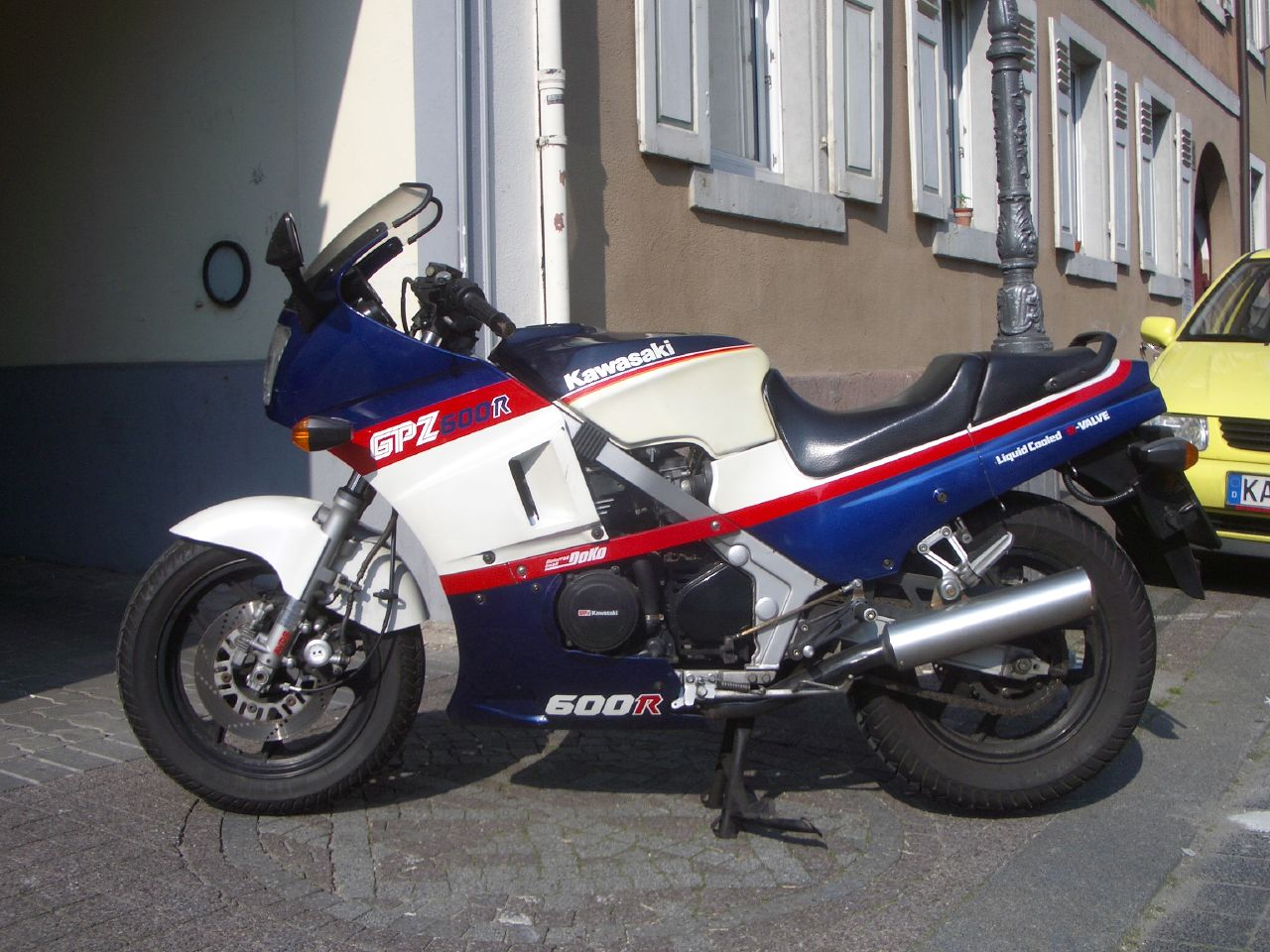 Kawasaki GPZ 500 S (reduced effect) 1993 pics #31866