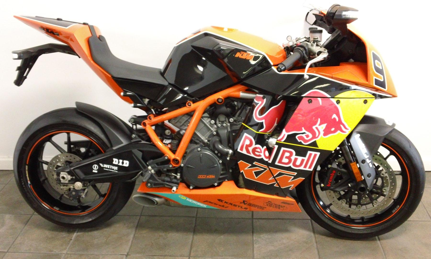 KTM 1190 RC8 R Red Bull Limited Edition 2010 images #86769