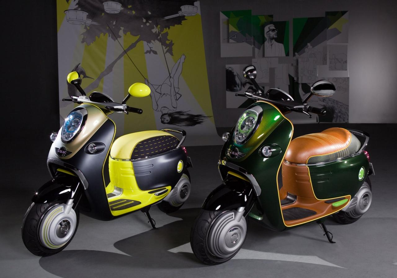 MINI Scooter E Concept images #106883