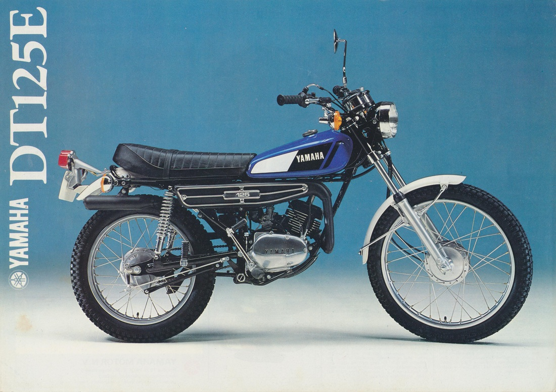 Yamaha DT 125 E 1978 wallpapers #135616