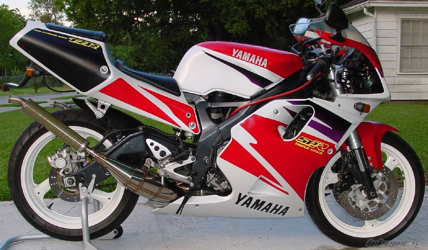 Yamaha Tzr 125 R Pics Specs And List Of Seriess By Year
