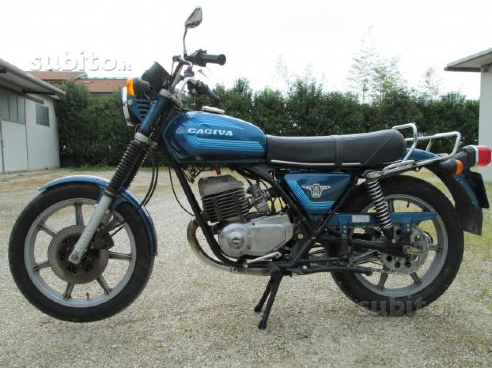 Cagiva SST 350 Chopper 1981 images #68448