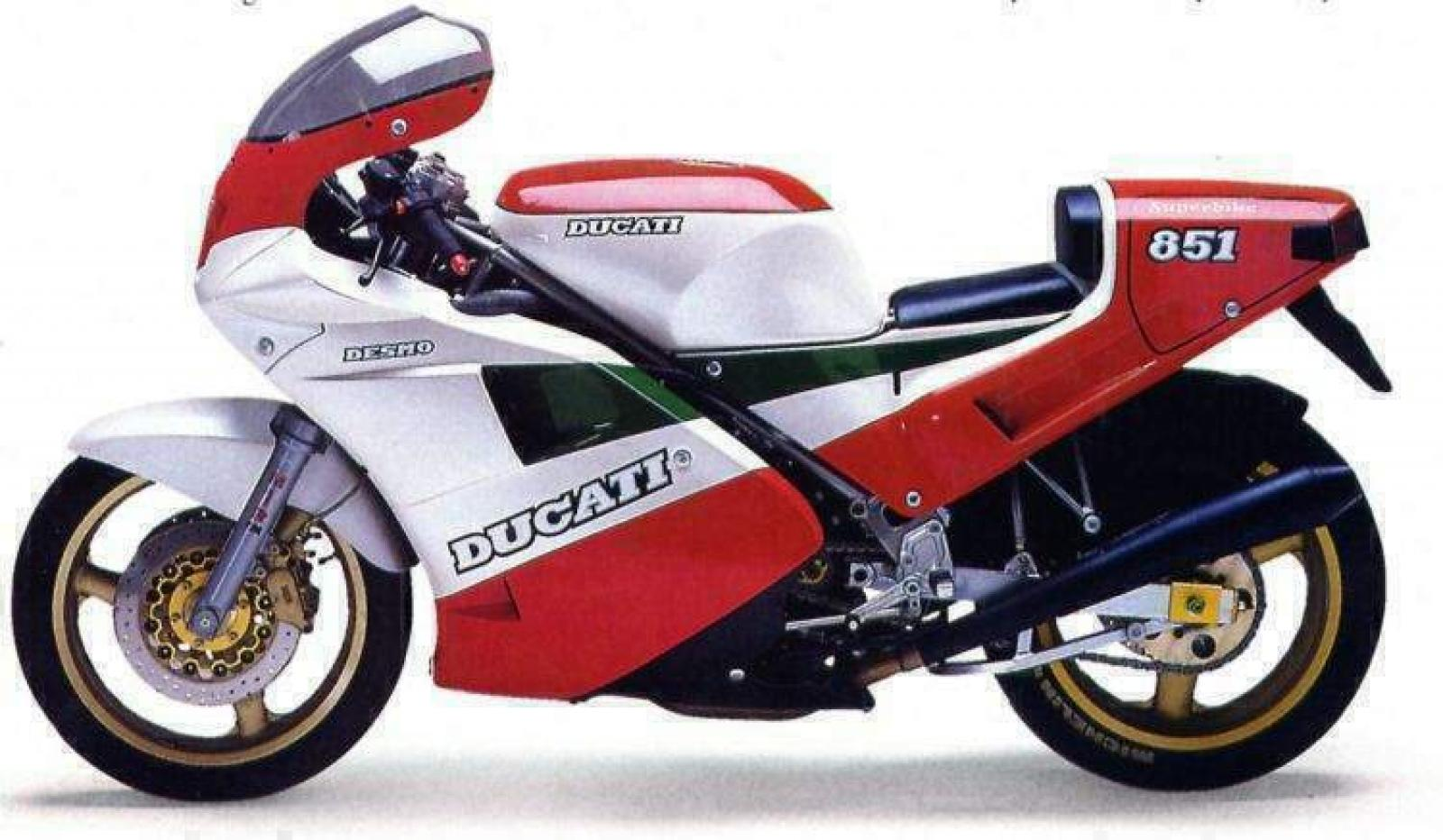 Ducati 851 Strada 1990 wallpapers #10630