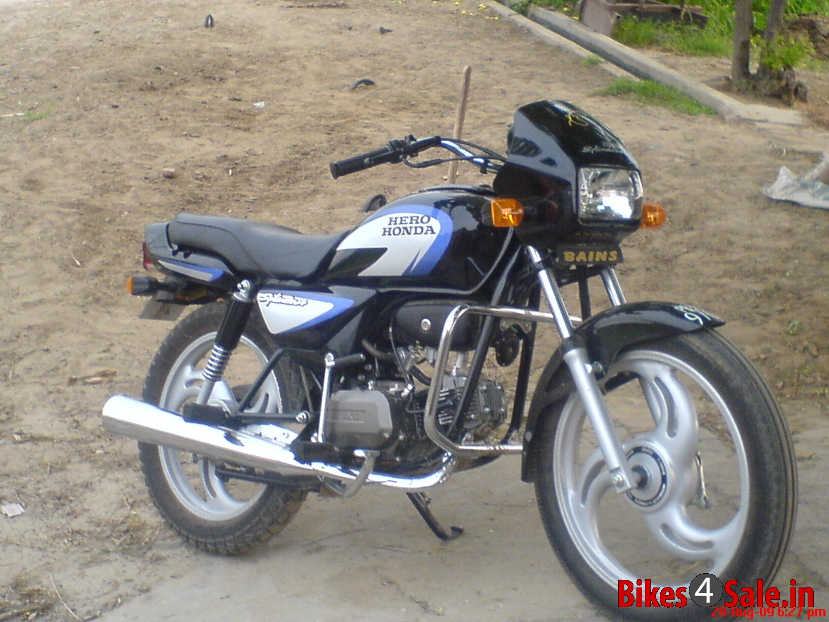 Hero Honda Splendor 2007 images #95896