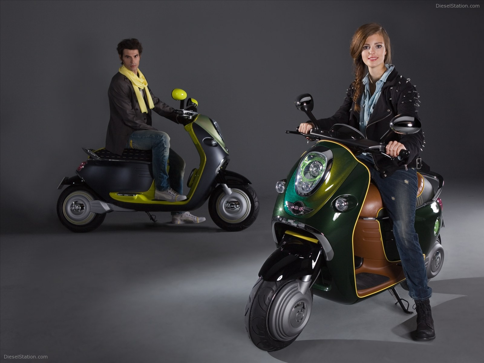 MINI Scooter E Concept images #106884