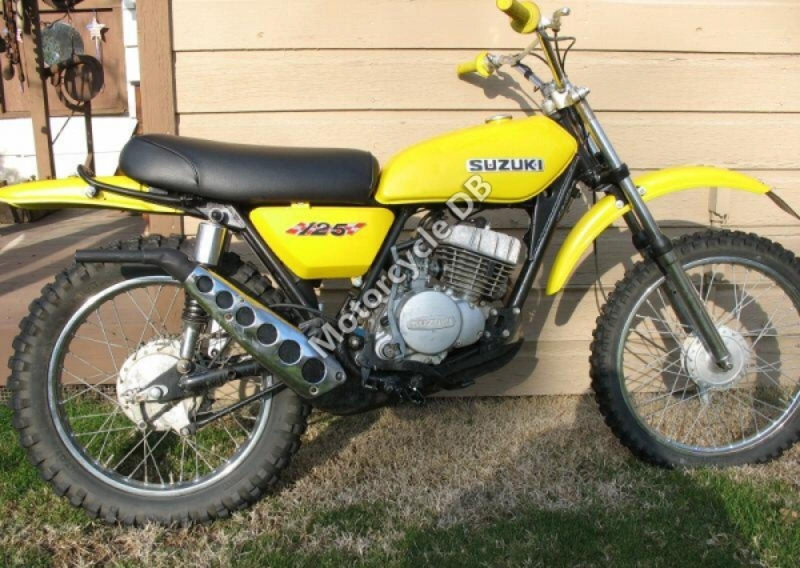 Suzuki TS 125: pics, specs and list of seriess by year ...