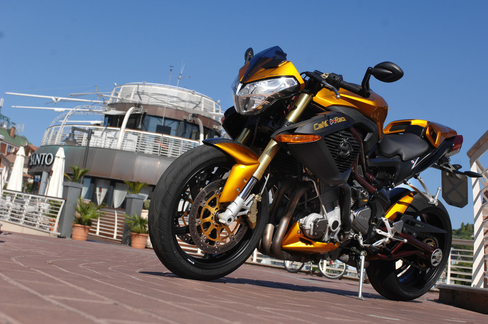 Benelli TnT Cafe Racer 2008 pics #1500