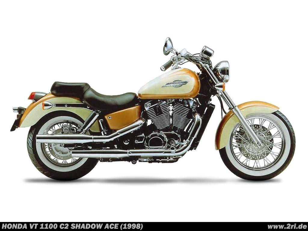 1996 Honda Vt 1100 Pic 9 Shadow Motorcycle Back Download Picture Size 1024x768 Next