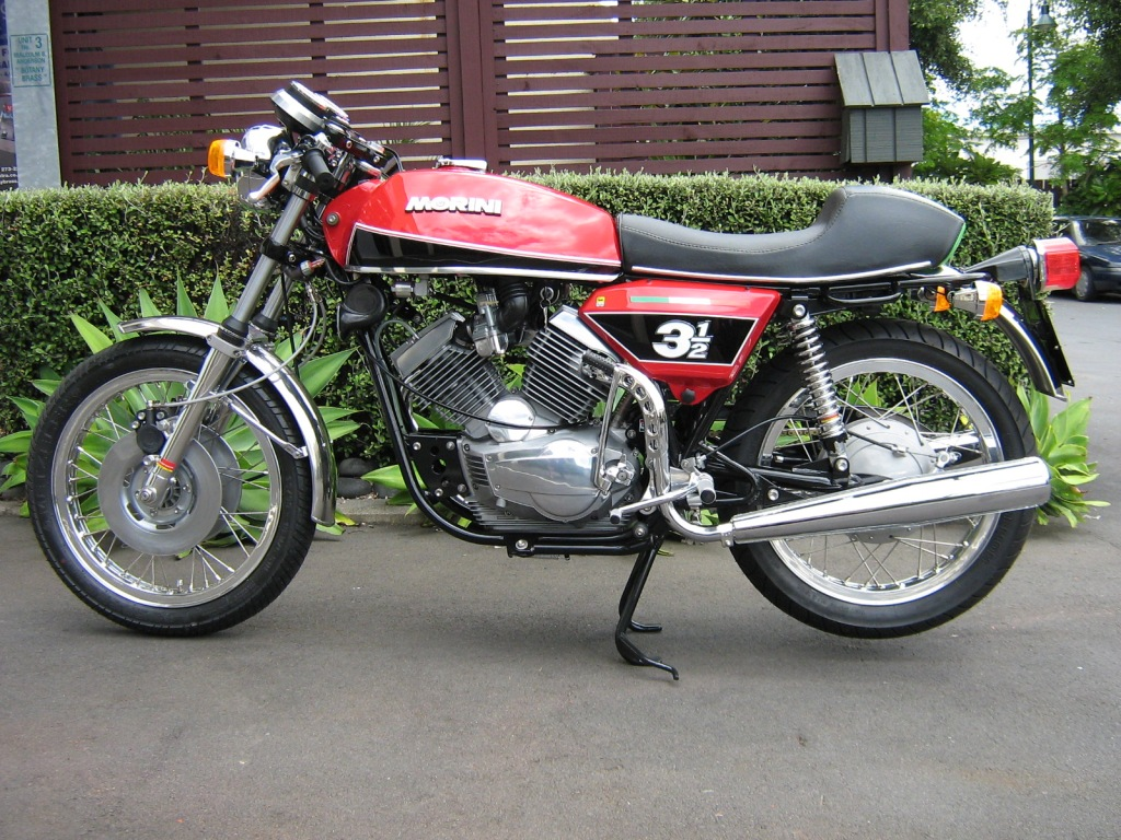 Moto Morini 3 1/2 VS 1975 wallpapers #139984